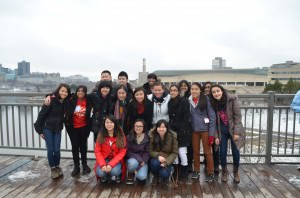 Marc Garneau Key Club members attended the Eastern Canada District Convention in Ottawa, Ontario.