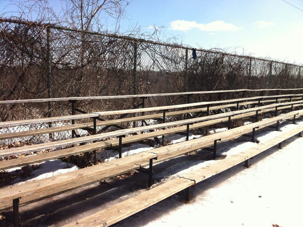 Project Fix Garneau hopes to be able to move onto larger projects such as repairing the bleachers. Photo: Abigail Chau