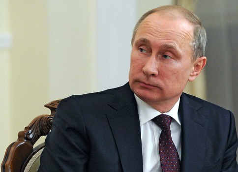 Russian President Vladimir Putin's approval ratings have hit 80 percent. (Image courtesy of Washington Post)