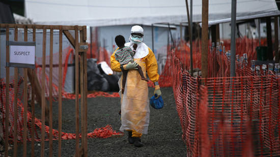 Nigeria the first to be declared Ebola-free. (Image courtesy of the John Moore/Getty Images).