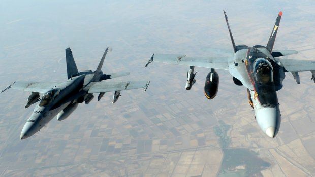U.S. launches airstrikes against the Islamic State militants in Iraq (Image courtesy of Staff Sgt. Shawn Nickel/USAF/Reuters).