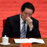 The former security chief of China,  Zhou Yongkang, was arrested and expelled by the Communist Party.  (Image courtesy to Alexander F. Yuan/Associated Press)