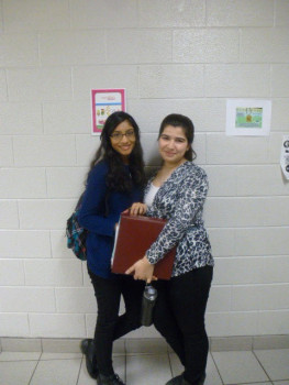 Students dressed up for __'s School Colour day. Photo: