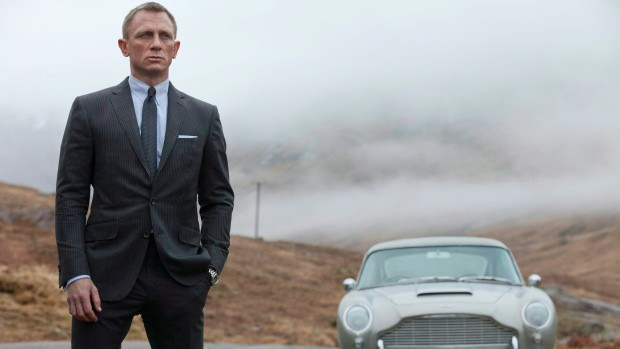 """Daniel Craig cast as James Bond in the upcoming movie """"Spectre"""" (Image courtesy of Francois Duhamel/Sony Pictures/Associated Press)."""