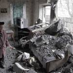 Ukraine peace talks ended before the began as Donestk is attacked with artillery fire and shelling. (Image courtesy of Alexander Ermochenko/ Reuters)