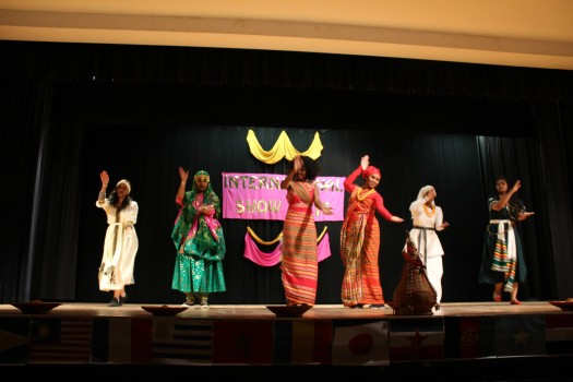 The show featured both modern and cultural dance performances. Photo courtesy of SAC.