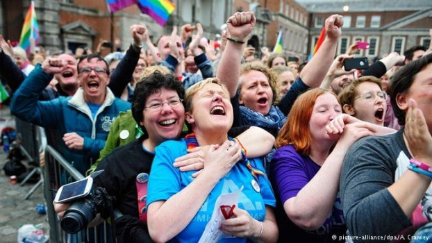 Green Party of Germany calling for recognition of same-sex marriages (Image courtesy of A. Crawley).