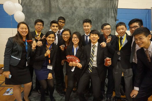 40 students from MGCI competed at DECA regionals this year.