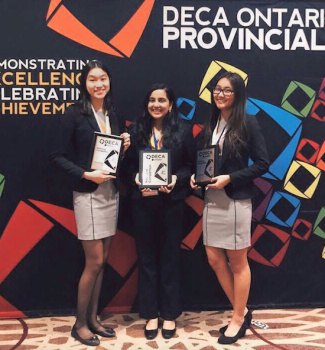 Many of MGCI's students received awards and qualified for ICDC. Photo: Cindy Cui.