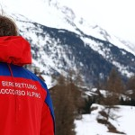 A member of the mountain rescue team stands at the end of the operations after an avalanche close to Riva di Tures, on March 12, 2016. Six climbers were killed in an Alpine avalanche on March 12 that struck a group of a dozen people in the area of Monte Nevoso, close to Italy's border with Austria, rescuers said. 6 people died, five Italians from Val Pustair and one Austrian from North Tyrol. / AFP / PIERRE TEYSSOT (Photo credit should read PIERRE TEYSSOT/AFP/Getty Images)