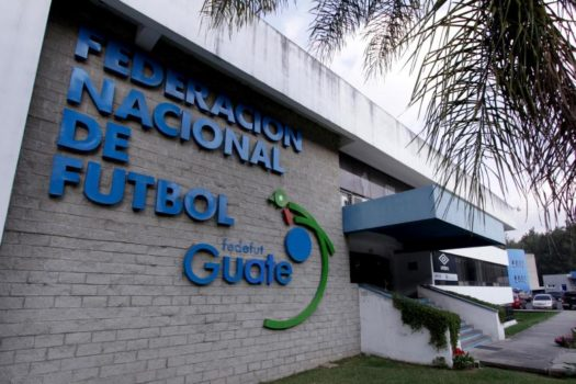 The facade of the Guatemala's soccer federation (Fedefut) building is pictured in Guatemala City (Courtesy of REUTERS/Josue Decavel)